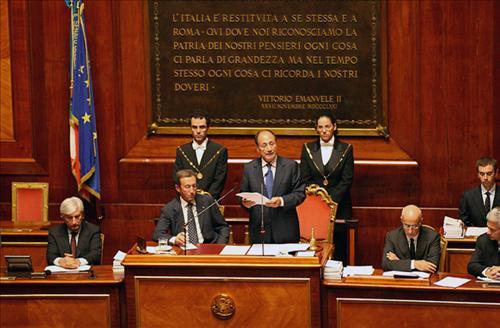 Presidente commemorazione di francesco cossiga for Sito senato