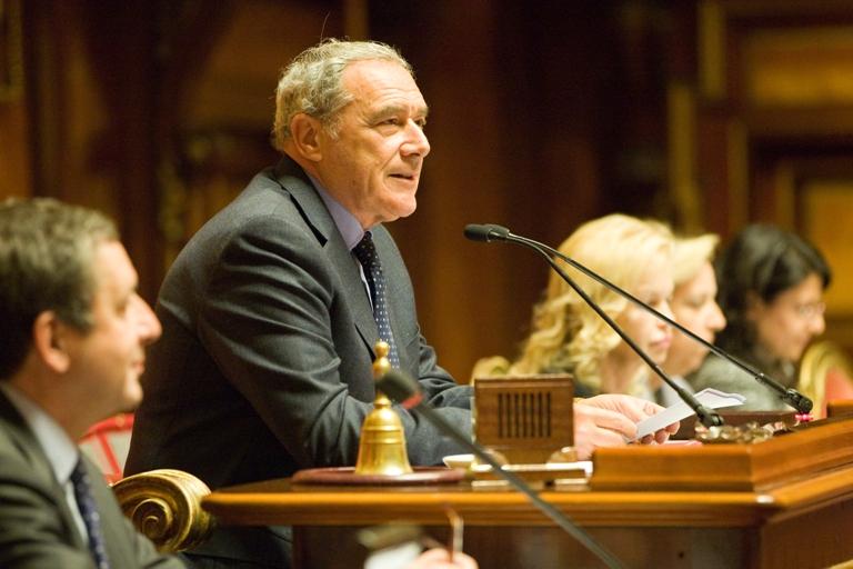 Il presidente del senato premiazione concorso testimoni for Sito senato