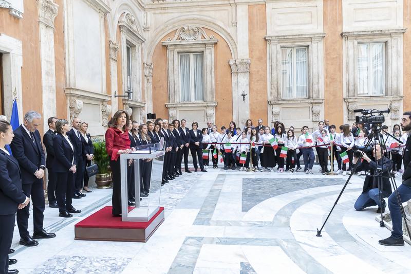 Presidente visita della nazionale italiana for Senato della repubblica indirizzo