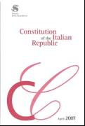 Constitution of the Italian Republic. April 2007