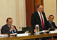 Presentazione della raccolta di saggi di Vincenzo Caianiello: l'intervento del senatore Luigi Compagna