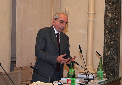 L'intervento del senatore Giuliano Amato
