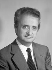Foto del Senatore Vittorino (l.) COLOMBO