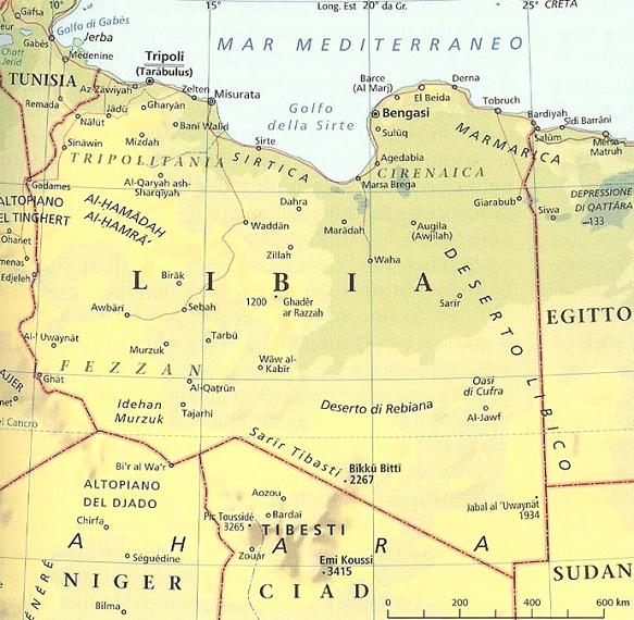 Libia Italia Cartina.Legislatura 17ª Dossier N 4