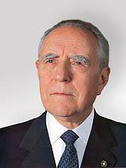 Foto del Senatore Carlo Azeglio CIAMPI